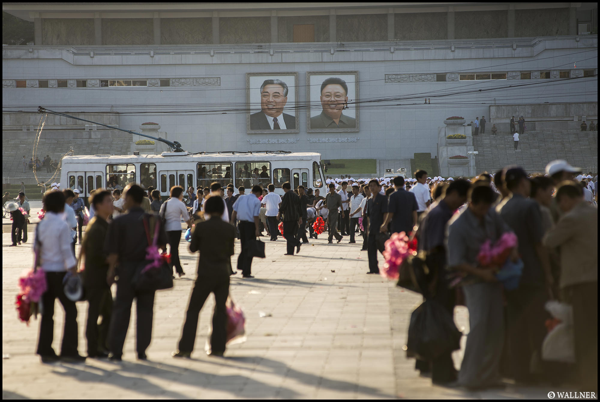 Digital Patrik Wallner Pyongyang Kim Il Sung Square LOWQ 2000P