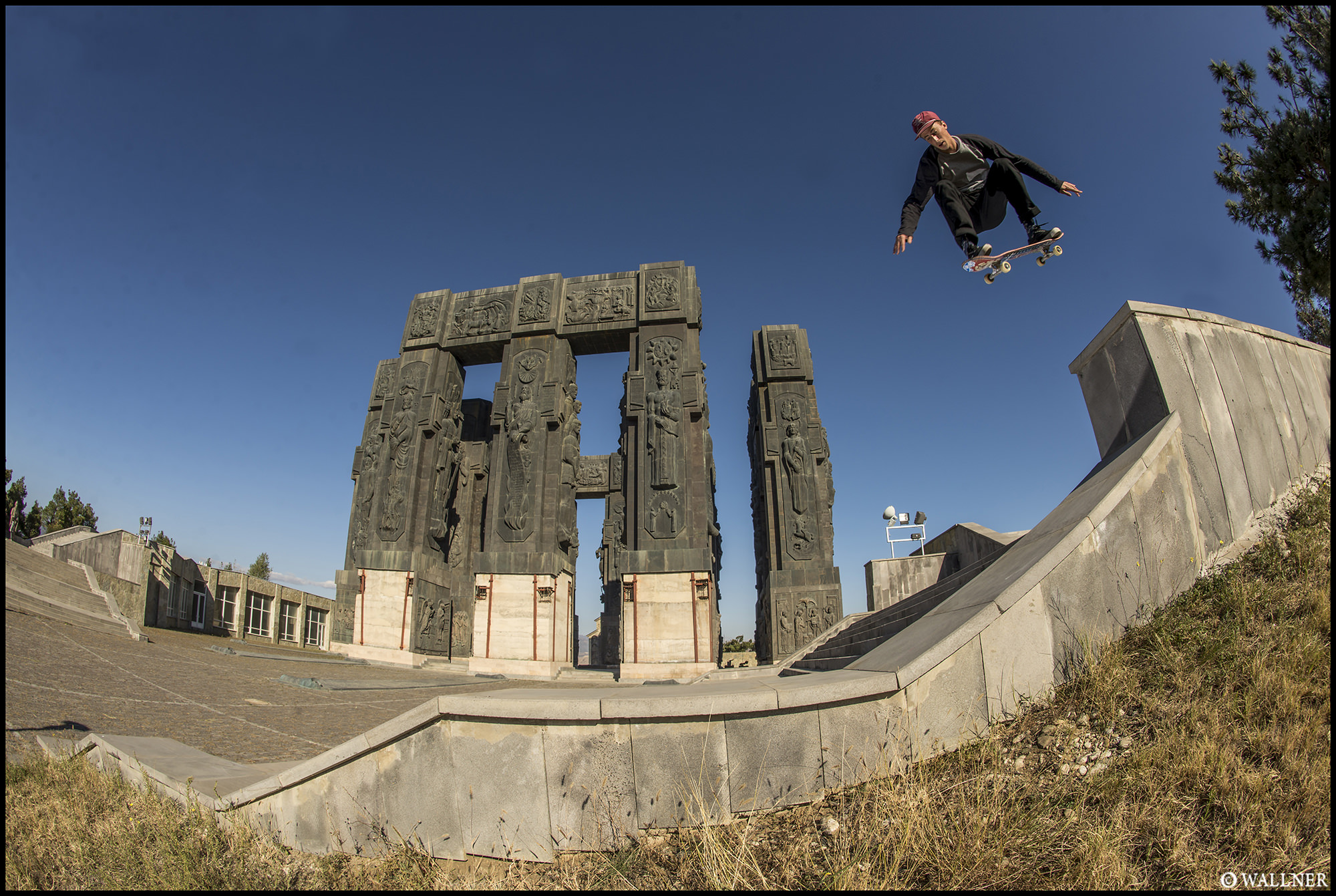 Digital Patrik Wallner Tbilisi Phil Ollie into Bank 2000P