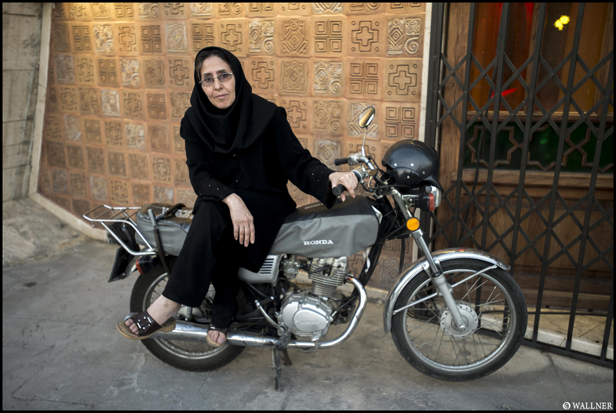 Digital Patrik Wallner Tehran Women on Honda LOWQ 2000P w WM