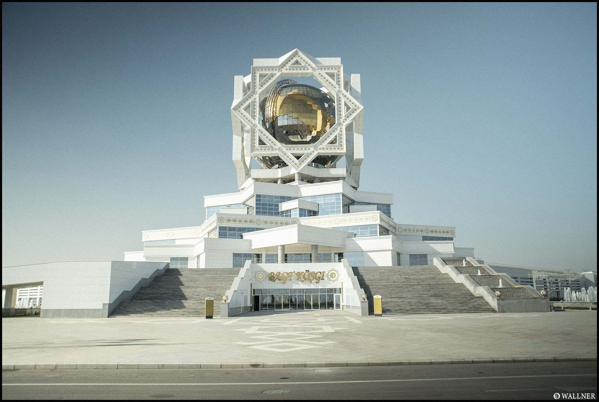 Digital Patrik Wallner Ashgabat Palace Of Happiness LOWQ 2000P
