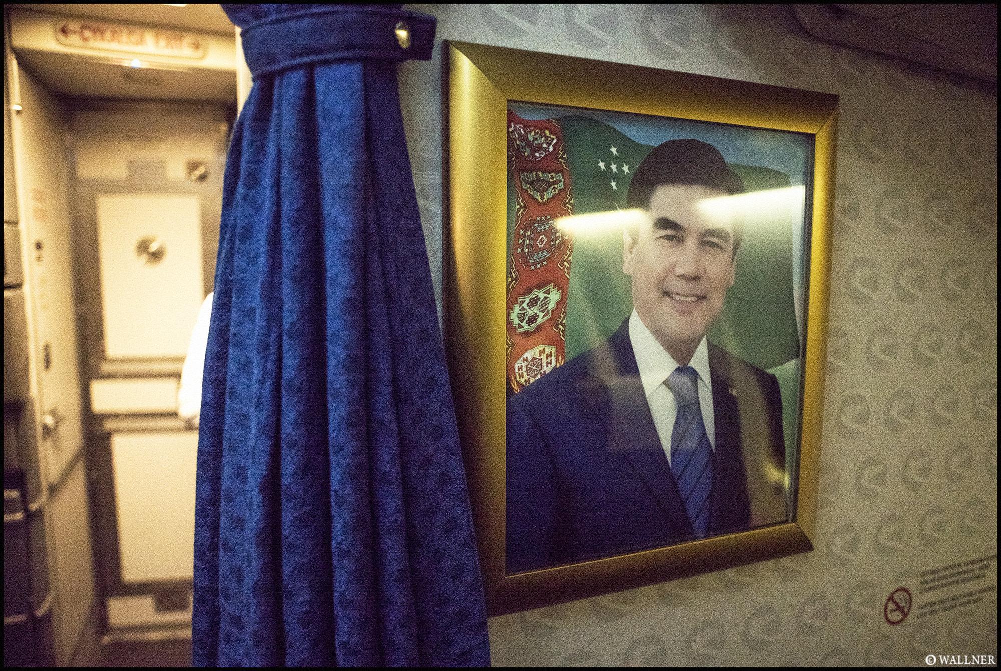 Digital Patrik Wallner Turkmenbashi Gurbanguly On Board LOWQ 2000P