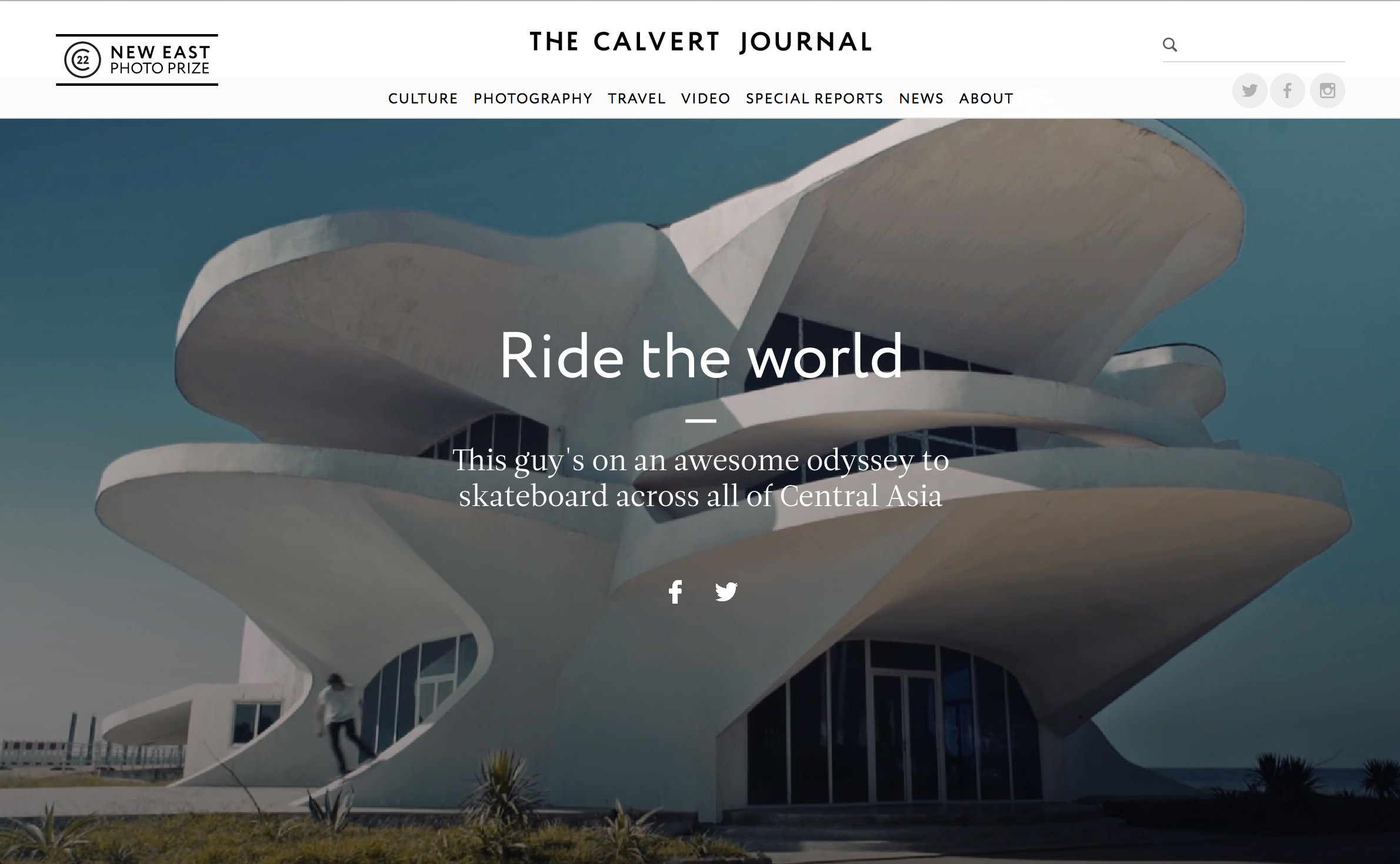 Calvert Journal Heading