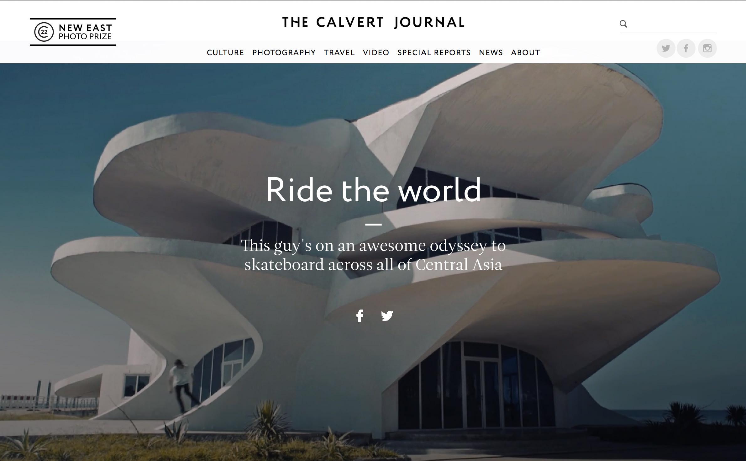 Calvert Journal Heading