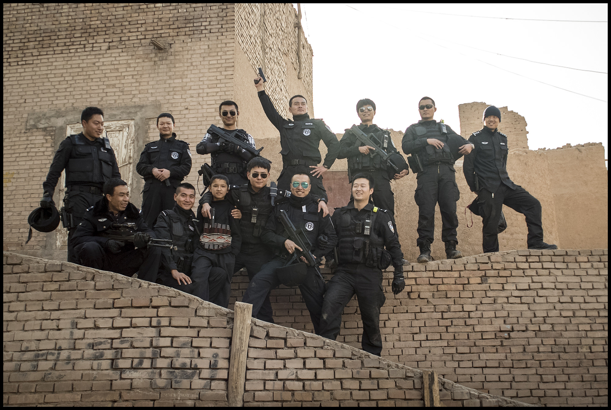 Digital Patrik Wallner Kashgar Mohammed and Han Police LOWQ 2000P