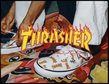 Thrasher x Vans – Custom (2021)